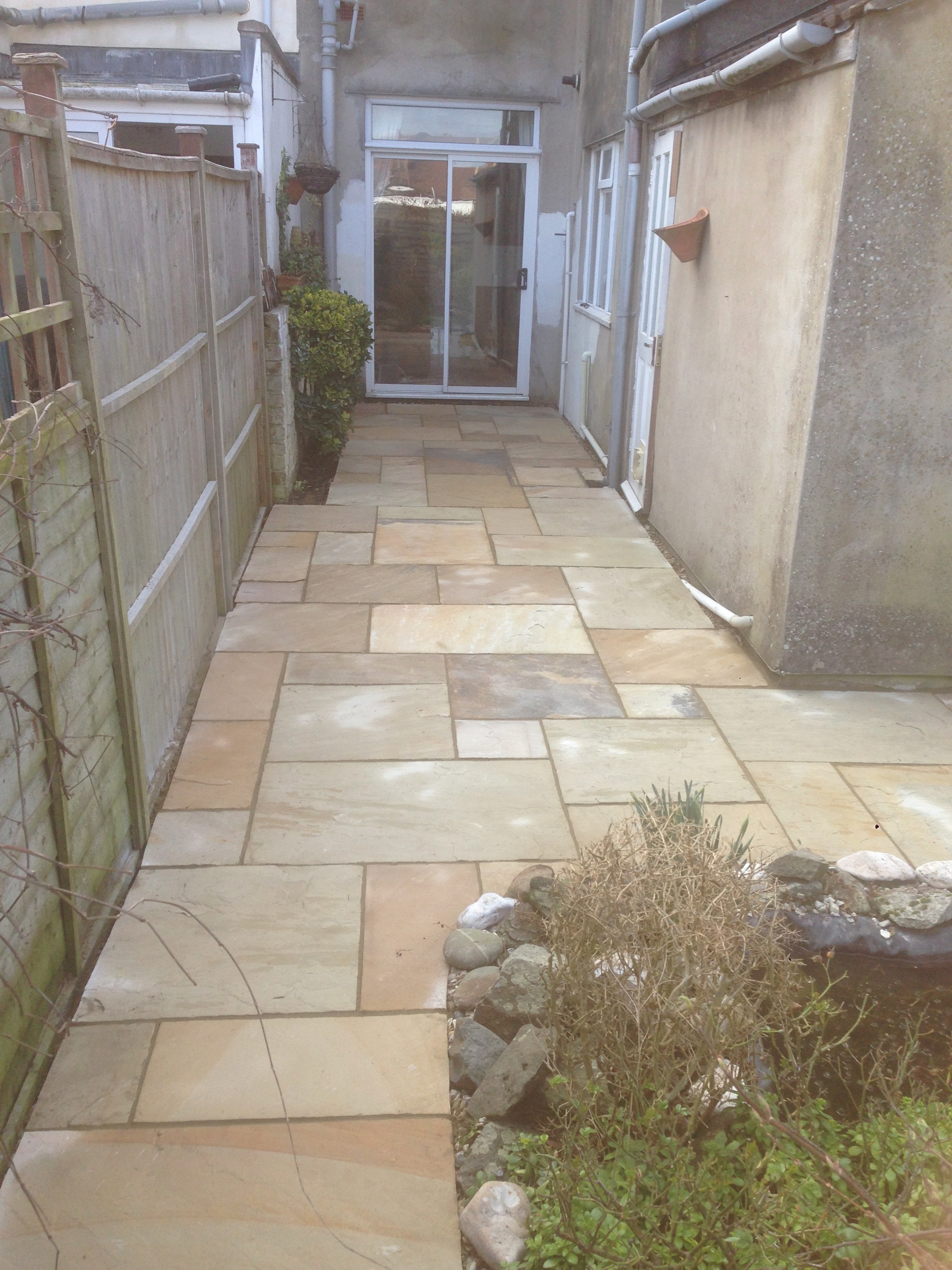Patio & Pond – Horfield